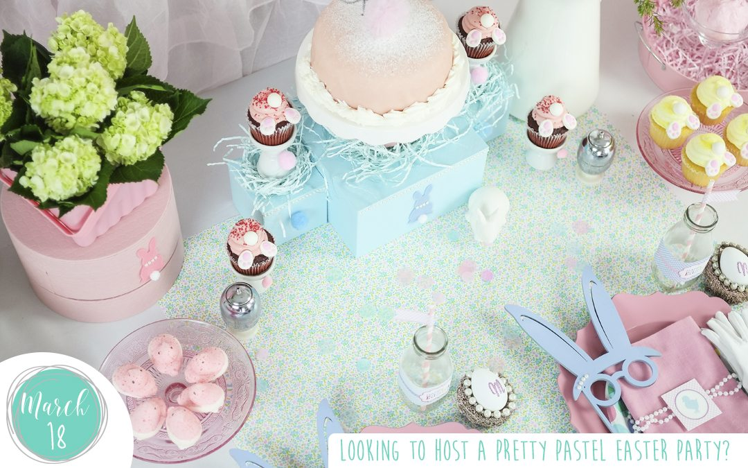 Looking to Host a Pretty Pastel Easter Party?