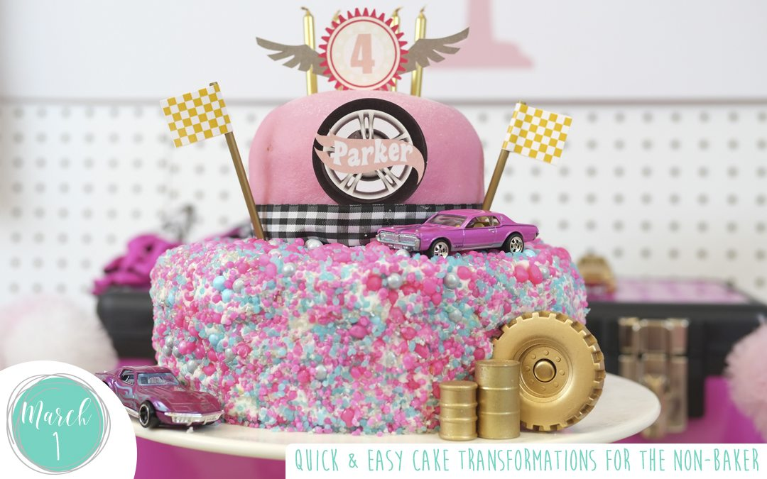 Quick and Easy Cake Transformations For the Non-Baker!