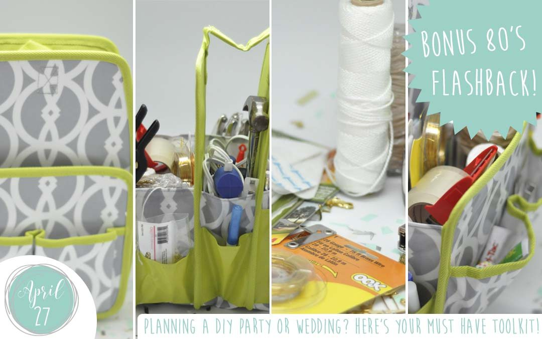 Planning a DIY Party or Wedding? Here's your must have toolkit!