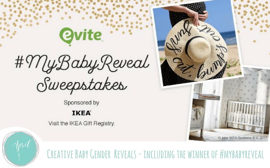 Creative Baby Gender Reveals – Share yours to win #MyBabyReveal