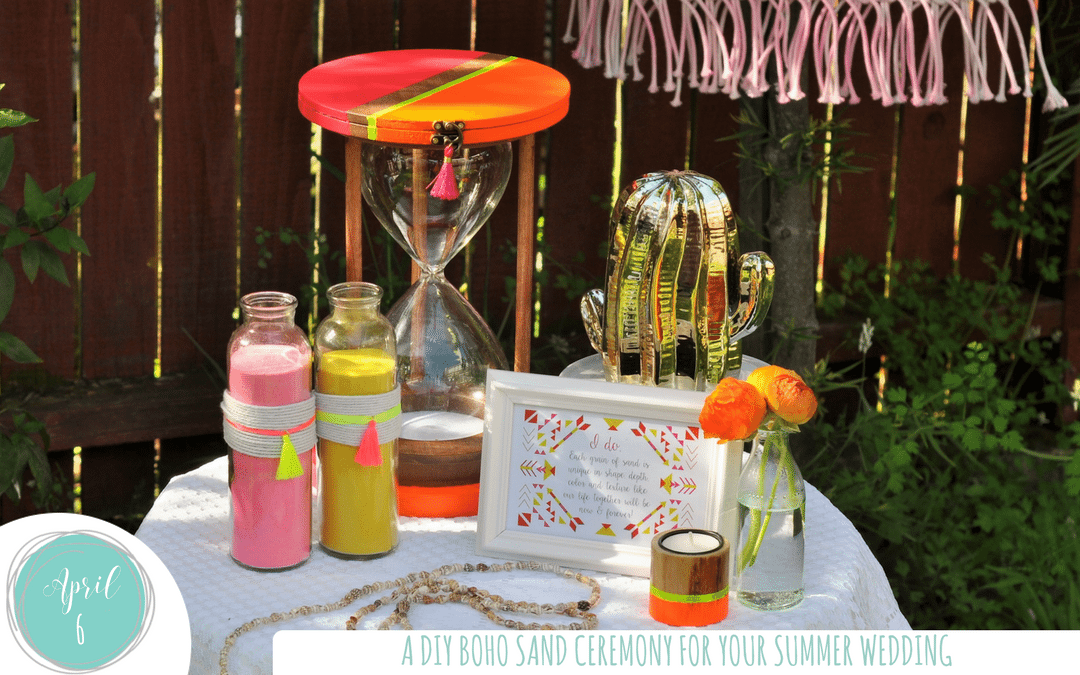 DIY Ideas for a Budget Friendly Sand Ceremony