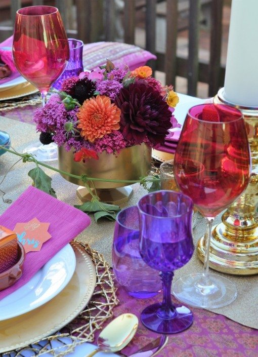 Arabian Spiced Boussa (Kiss) Cocktail | Arabian Nights Bridal Shower | Fern and Maple Events