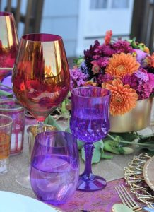 """Arabian Nights Bridal Shower Spiced Boussa """"Kiss"""" Cocktails 
