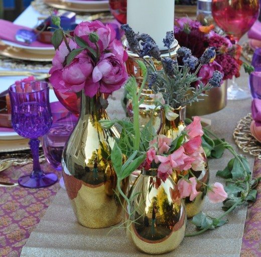 Arabian Nights Bridal Shower Tablescape | Fern and Maple Events and Party Blog