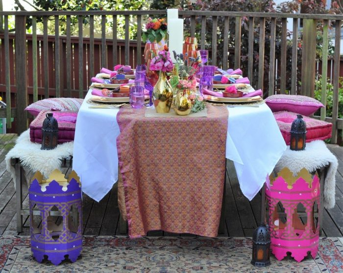 65eabb6139f9 Arabian Nights Bridal Shower Tablescape