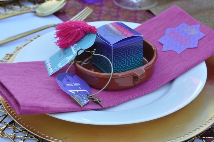 Arabian Nights Bridal Shower DIY Party Favors | Fern and Maple Events and Party Blog