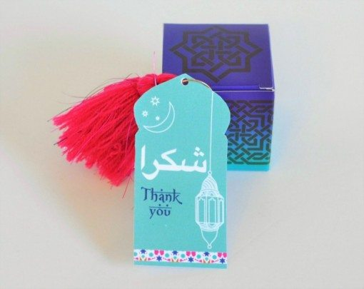 DIY Arabian Theme Bridal Shower Favors Step 2 | Fern and Maple Events and Party Blog