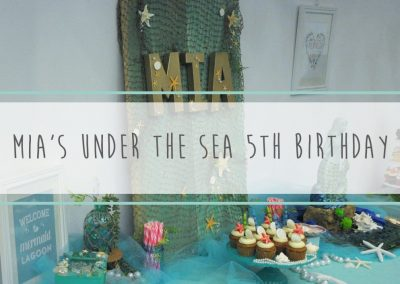 Mia's Under the Sea 5th Birthday