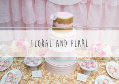 Floral & Pearl