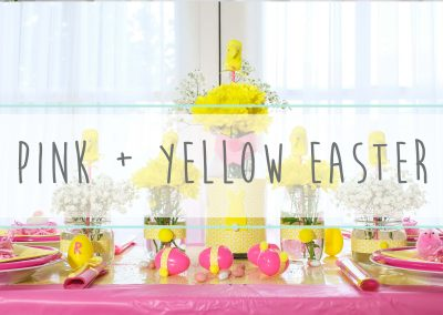 Pink and Yellow Easter