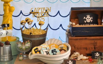 Pirate Party Dessert Table Ideas