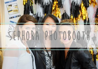 Sephora Photo Booths