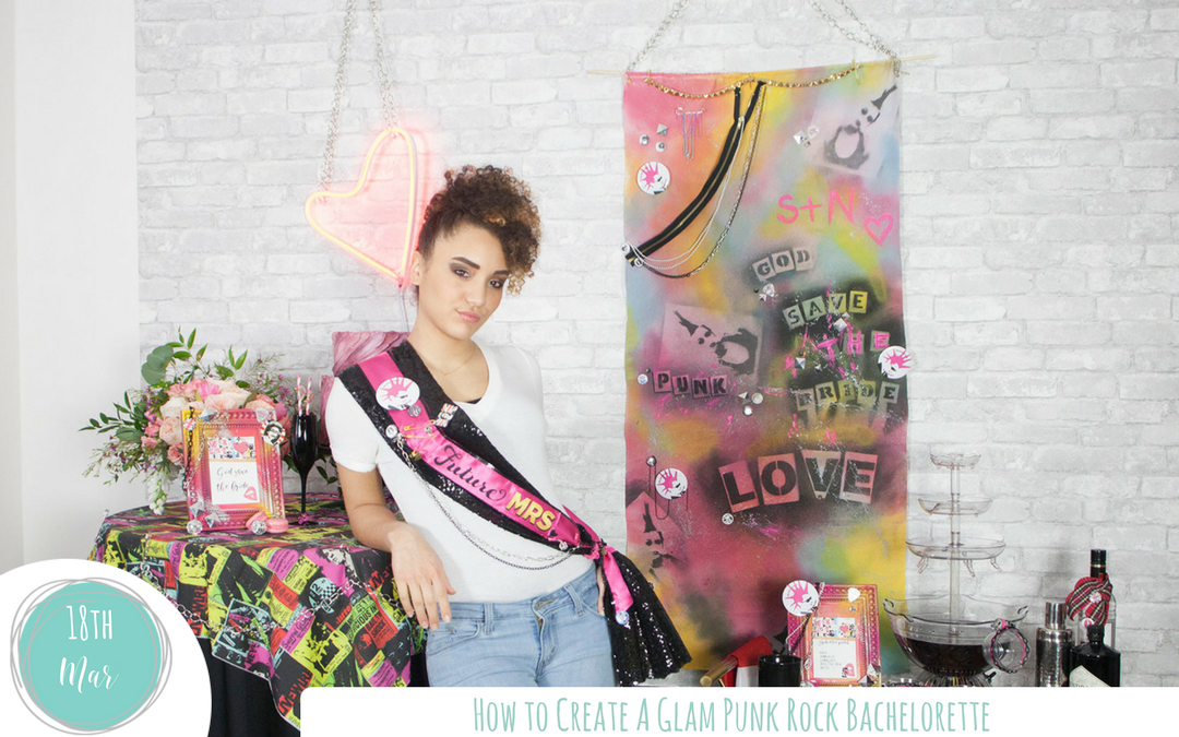 Rock Out with a Glam Punk Rock Bachelorette
