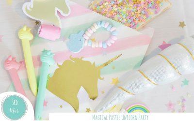 Magical Pastel Unicorn Party