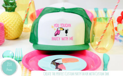 Creating the Perfect Custom Party Favor with Custom Ink