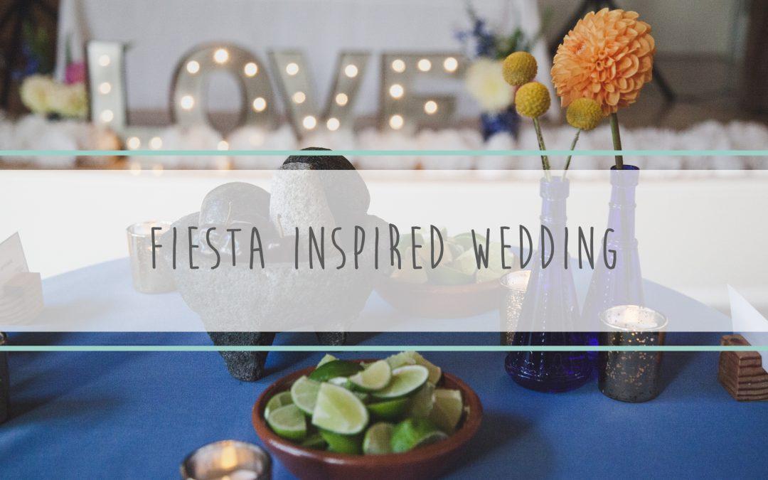 Fiesta Inspired Wedding