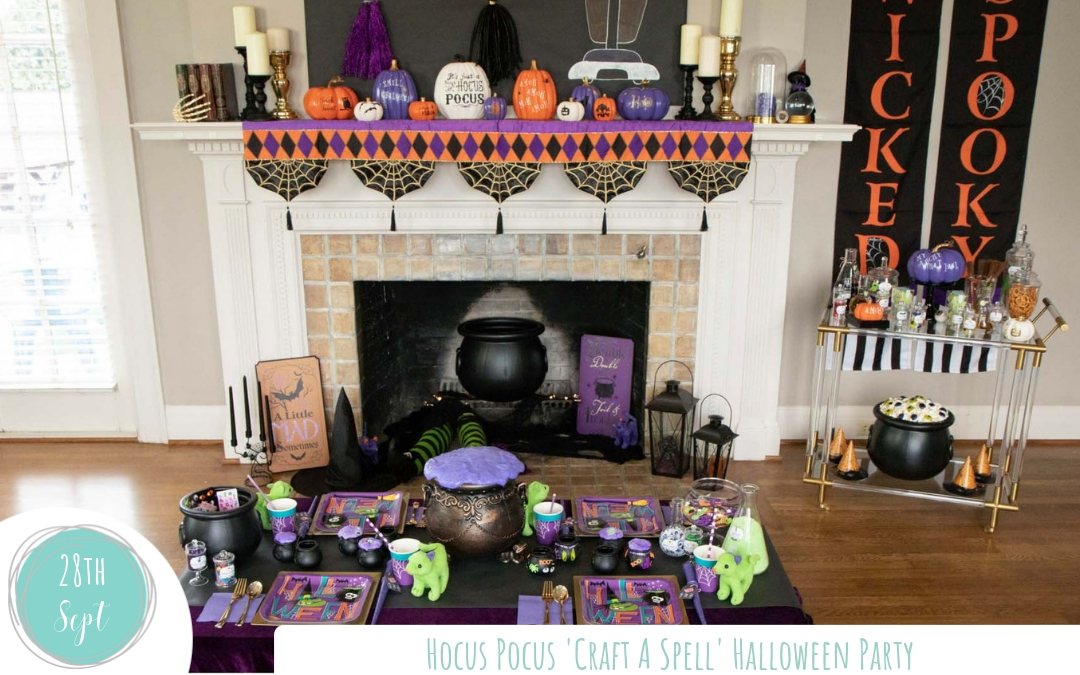 How to craft up a Hocus Pocus Halloween party