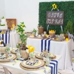 Navy & Lemon Italian Summer Holiday Inspired Wedding
