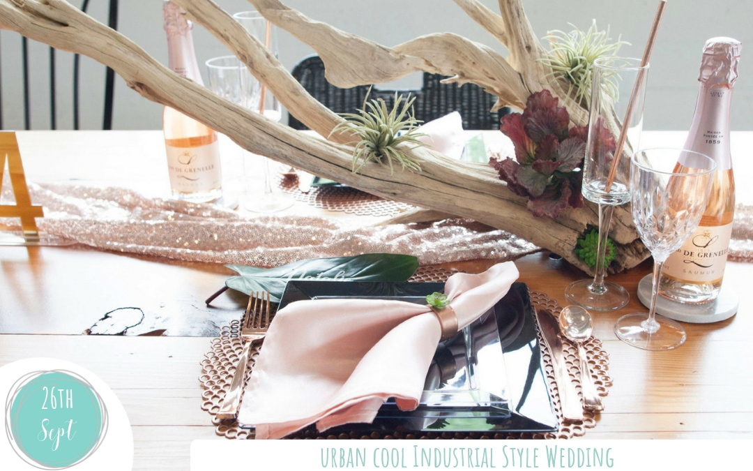 Fall in Love with the Industrial Wedding Trend