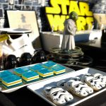 How to Set-Up a Star Wars Dessert Table