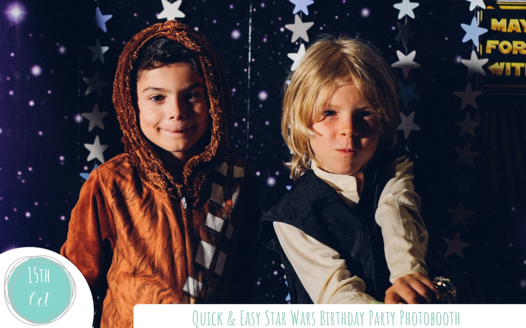 Create a Quick & Easy Star Wars Themed Photobooth