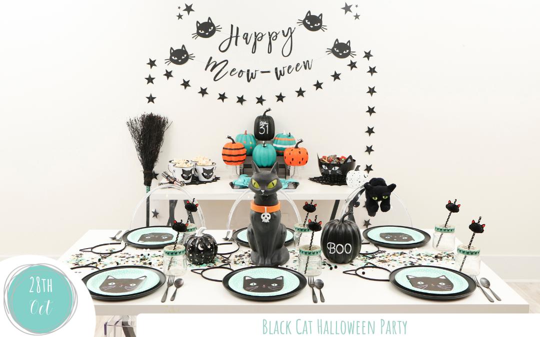 Black Cat Halloween Party