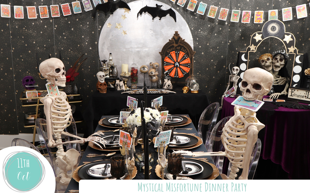 Fortune-Telling Halloween Dinner Party