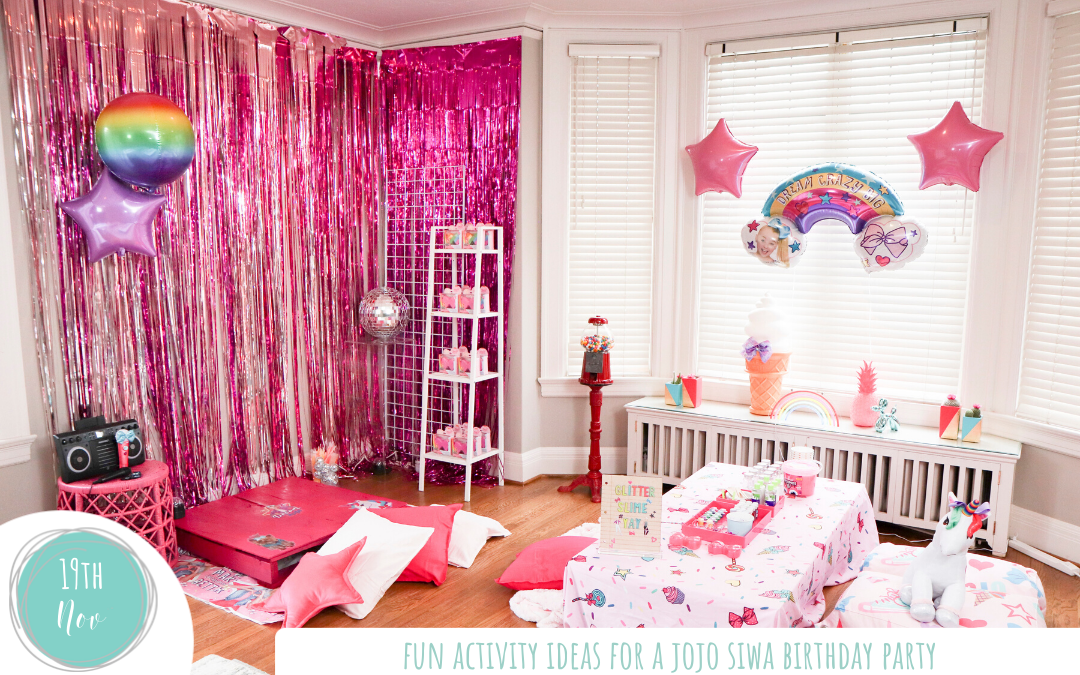 Fun Activity Ideas for a JoJo Siwa Birthday Party