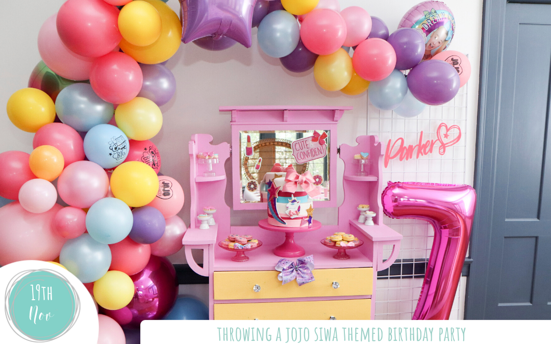 Throwing a JoJo Siwa Birthday Party