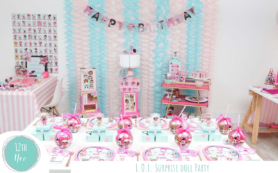 L.O.L. Surprise Doll Trading Birthday Party