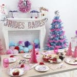 Confetti Christmas Bachelorette Party