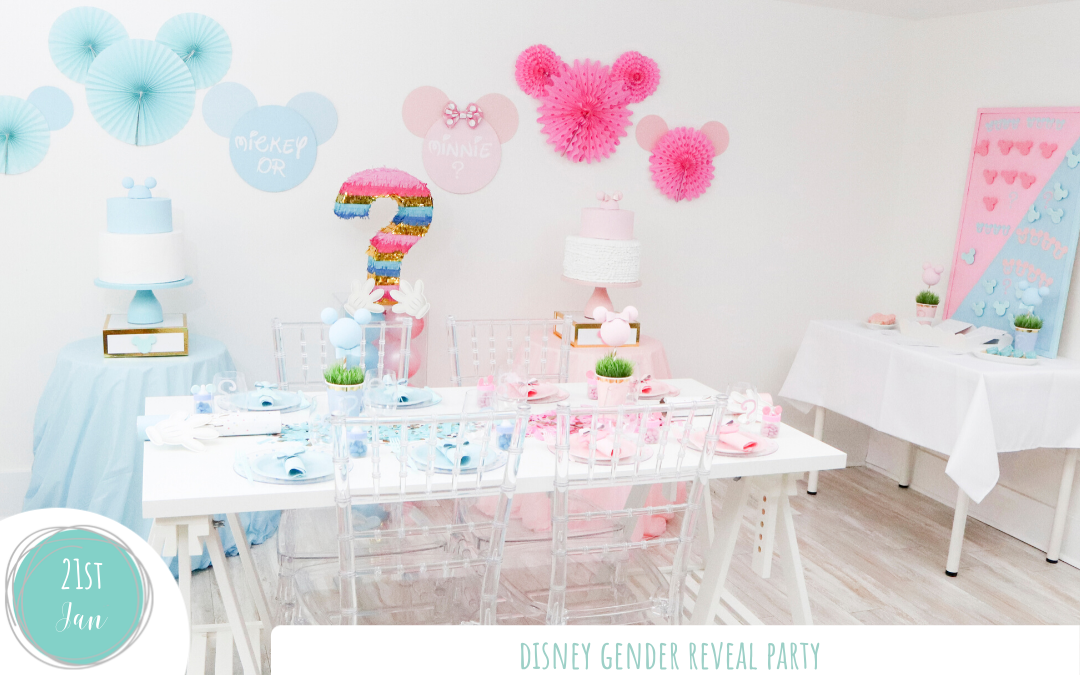 Disney Gender Reveal Party