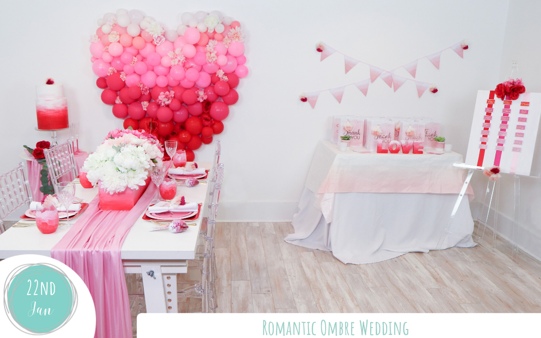 Romantic Ombre Wedding