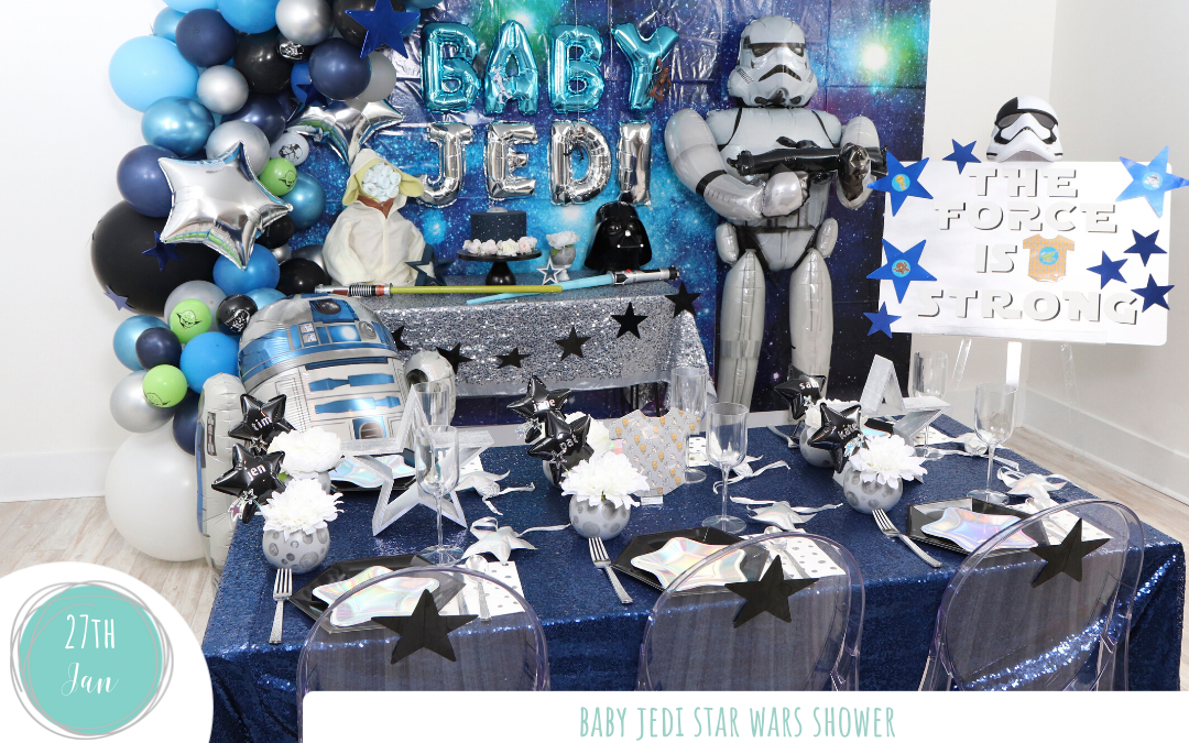 Baby Jedi Star Wars Shower