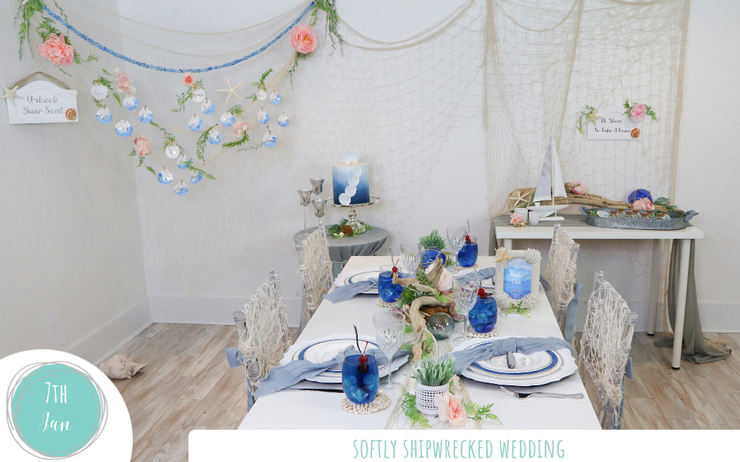Softly Shipwrecked Wedding