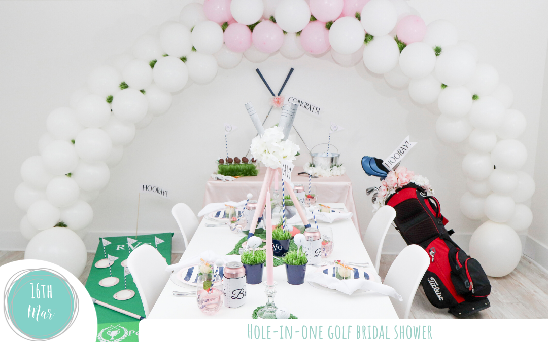 Hole-in-One Golf Bridal Shower