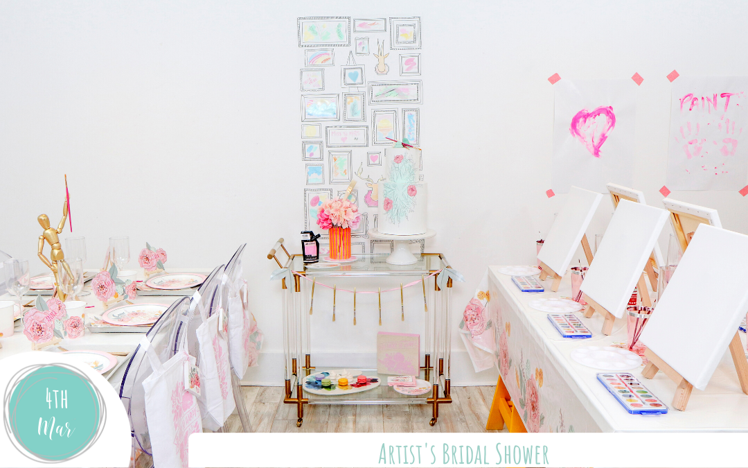 Artist's Bridal Shower