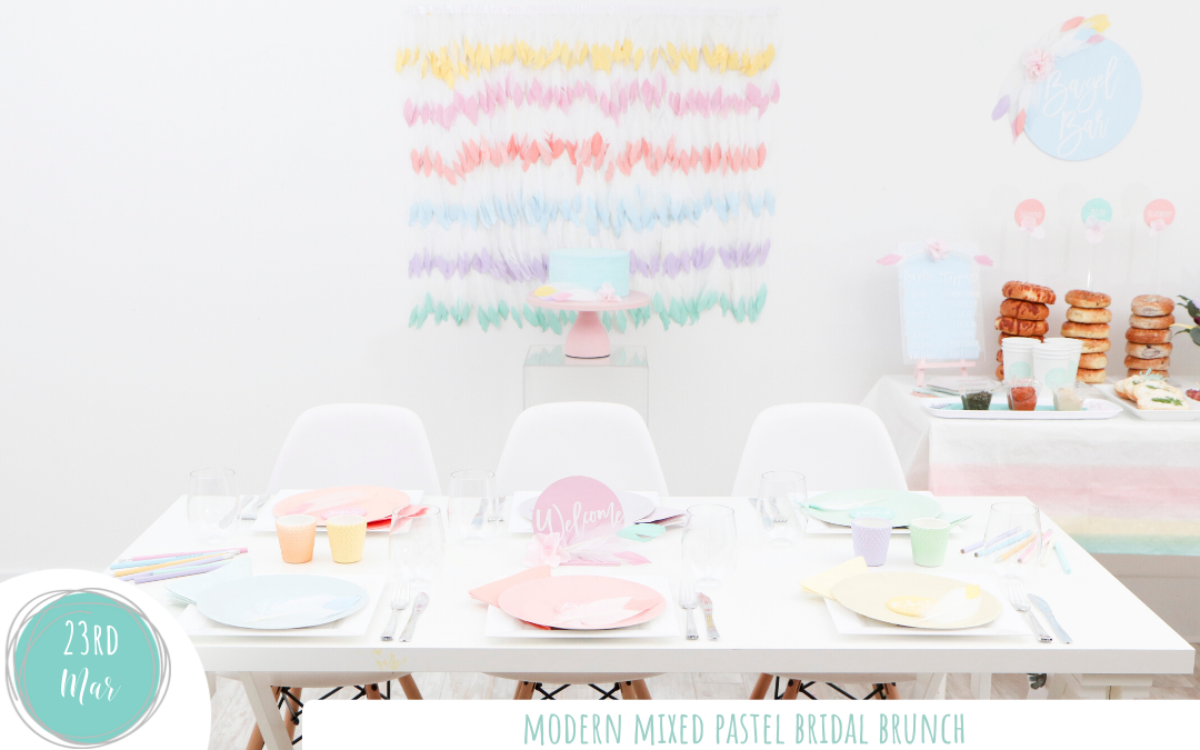 Modern Mixed Pastel Brunch