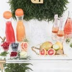 Three Ways to Style a Mimosa Bar Cart