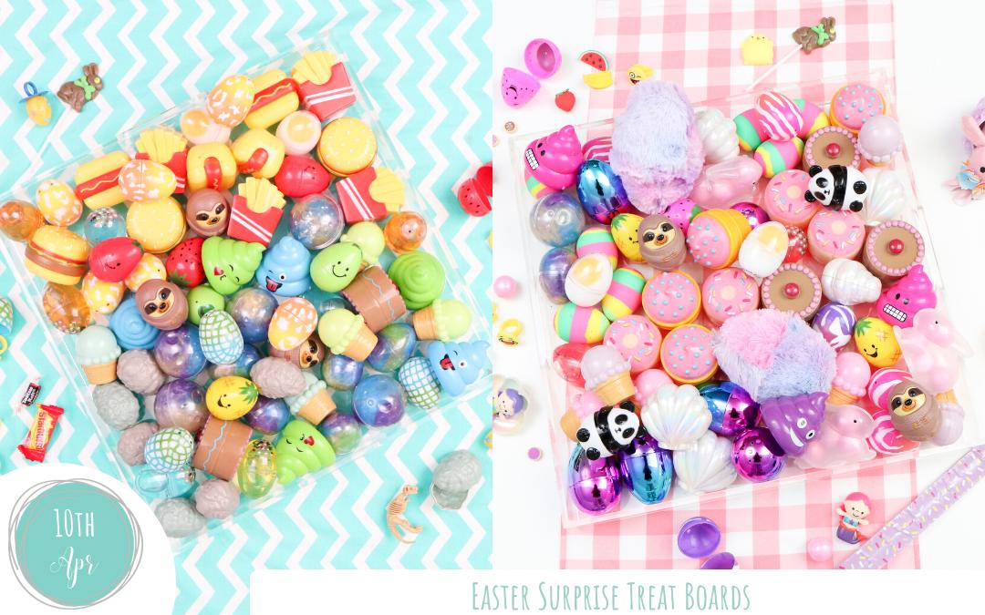 Easter Egg Surprise Treat Boards