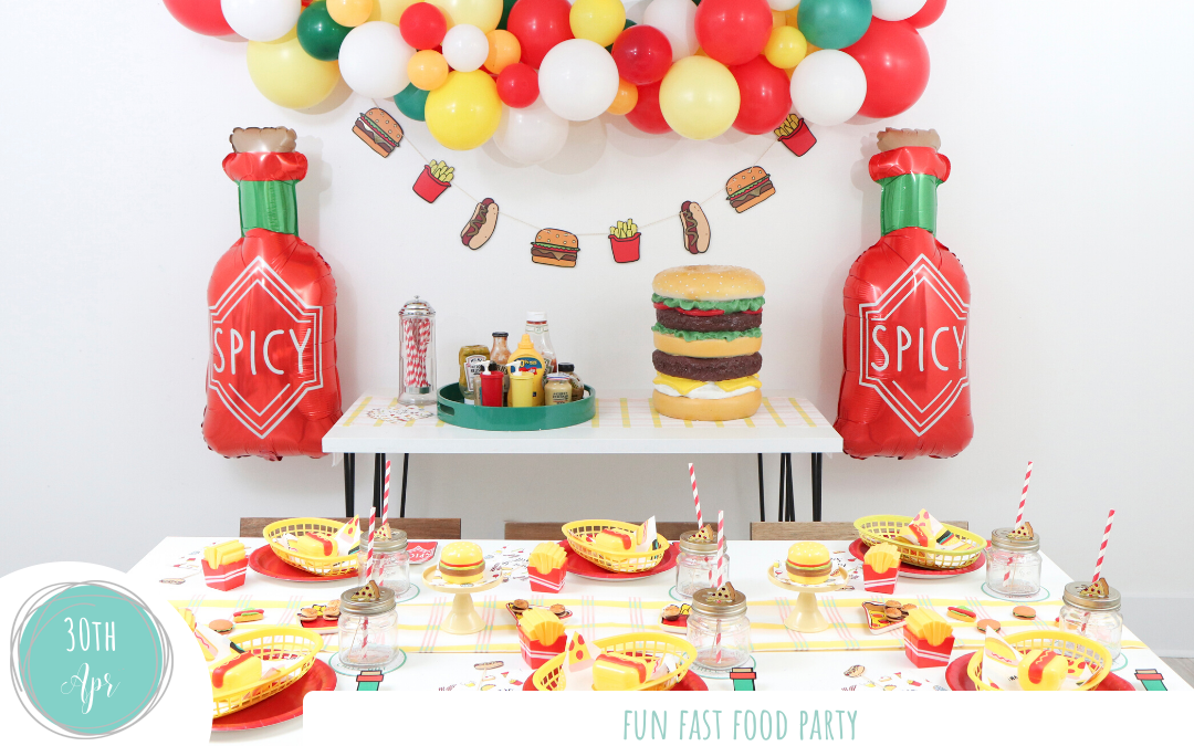 Fun Fast Food Party
