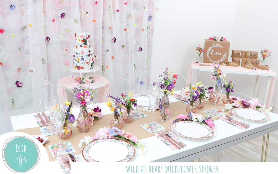 Wild at Heart Wildflower Shower