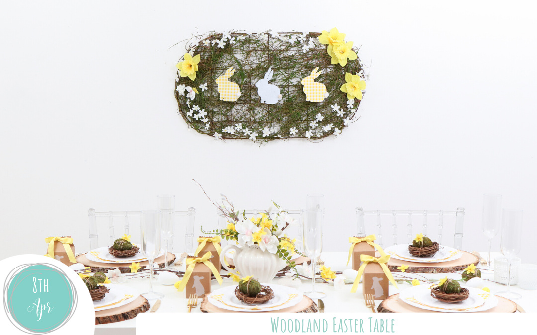 Woodland Easter Table
