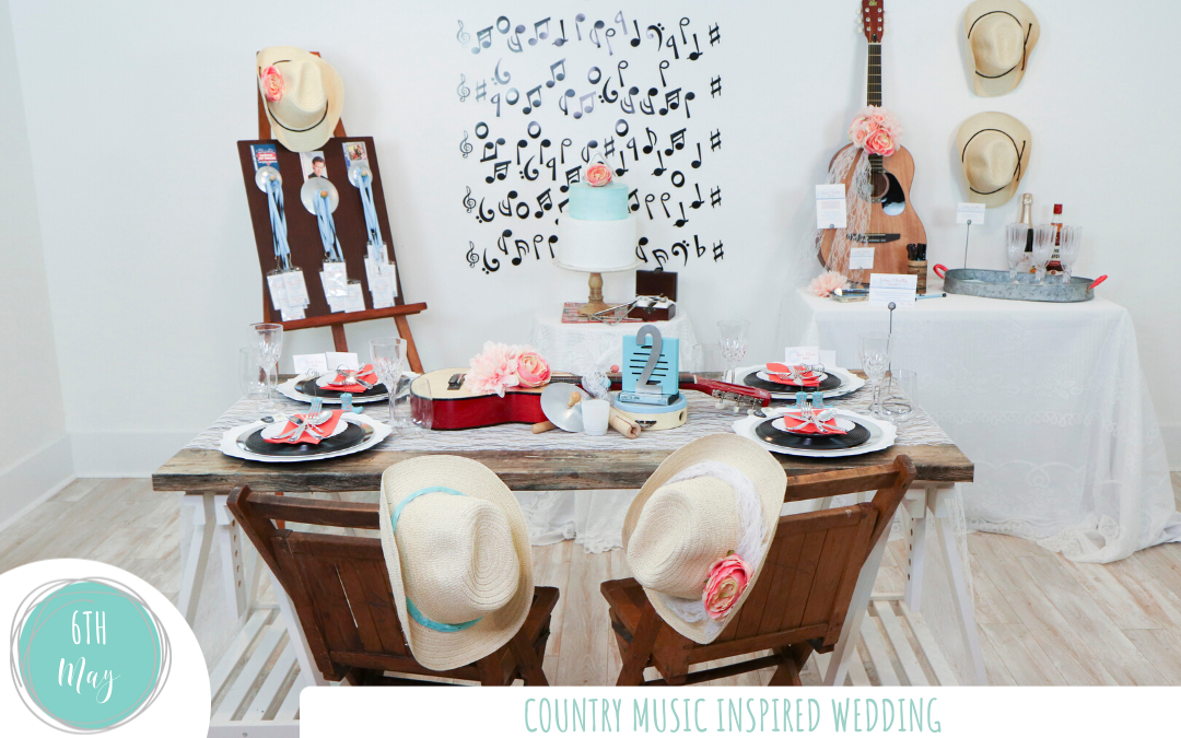 Country Music Inspired Wedding