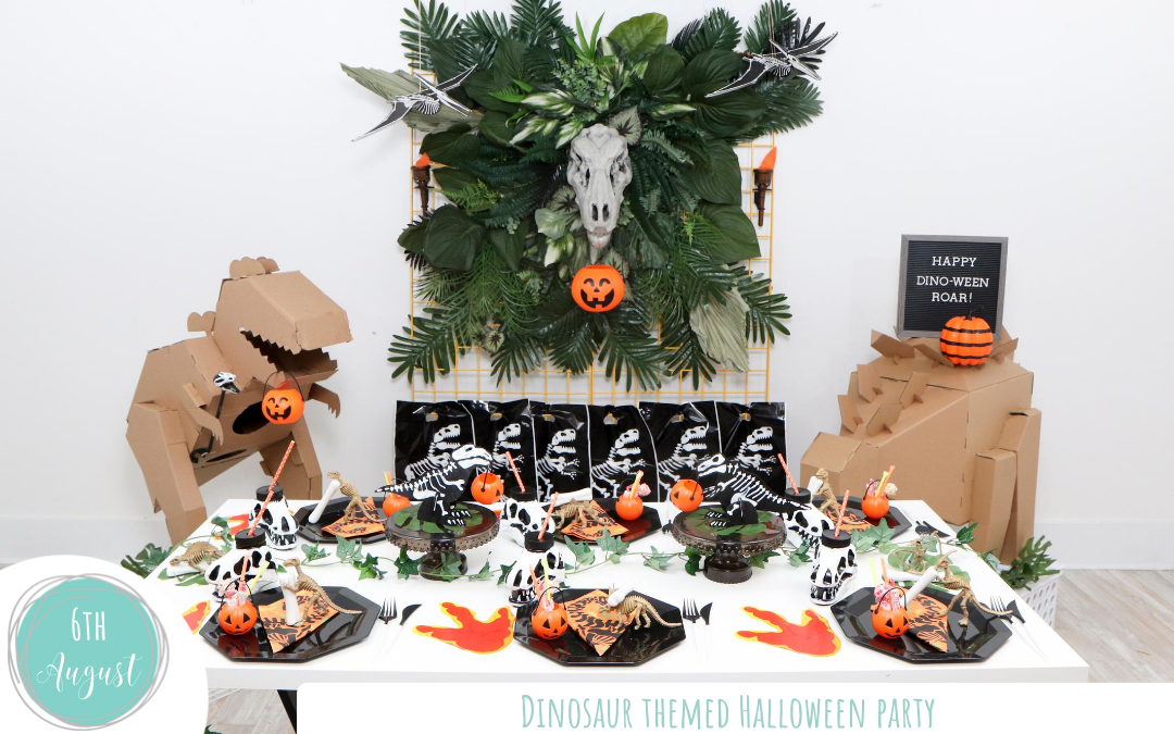 Dinosaur Themed Halloween Party