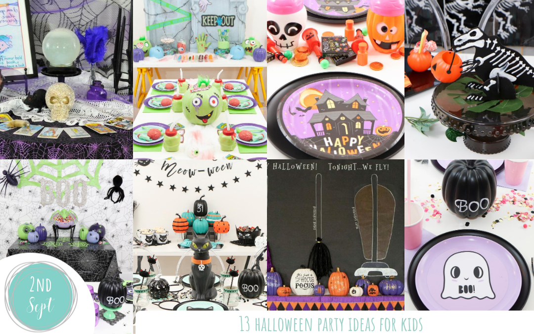 13 Halloween Party Ideas for Kids