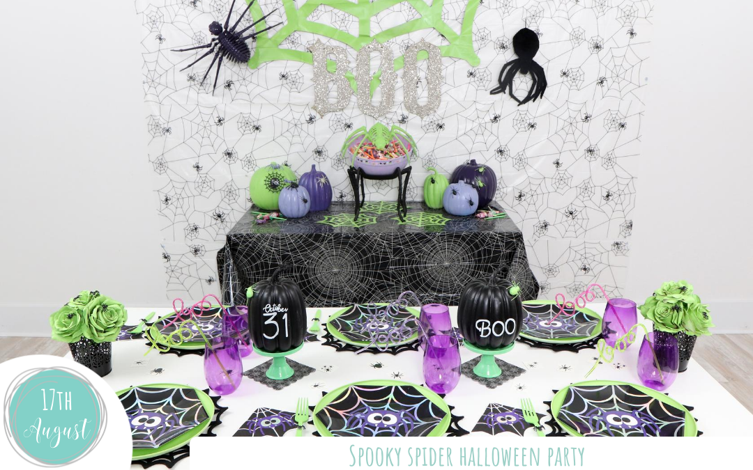 Spooky Spider Halloween Party