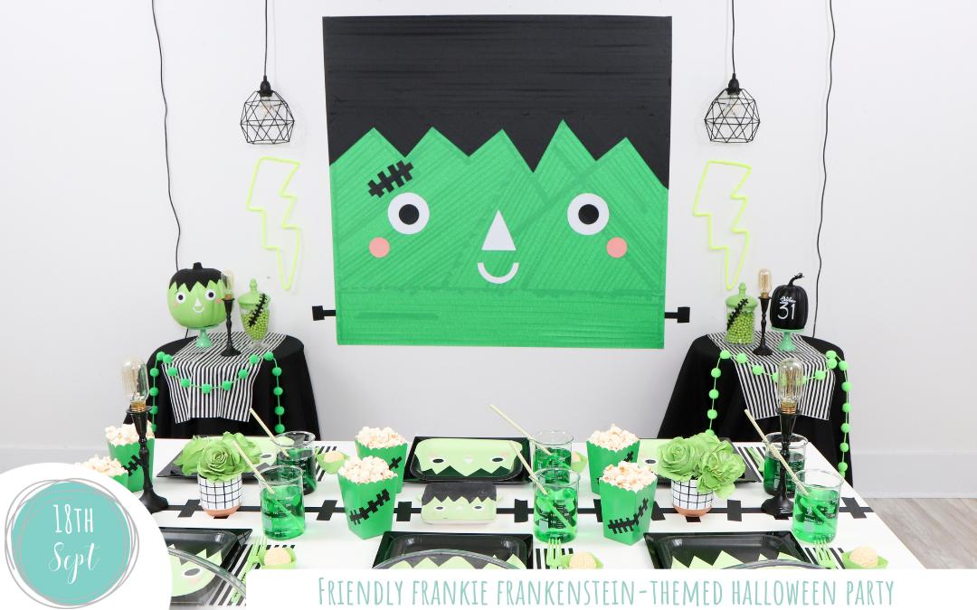 Friendly Frankie Frankenstein Themed Halloween Party