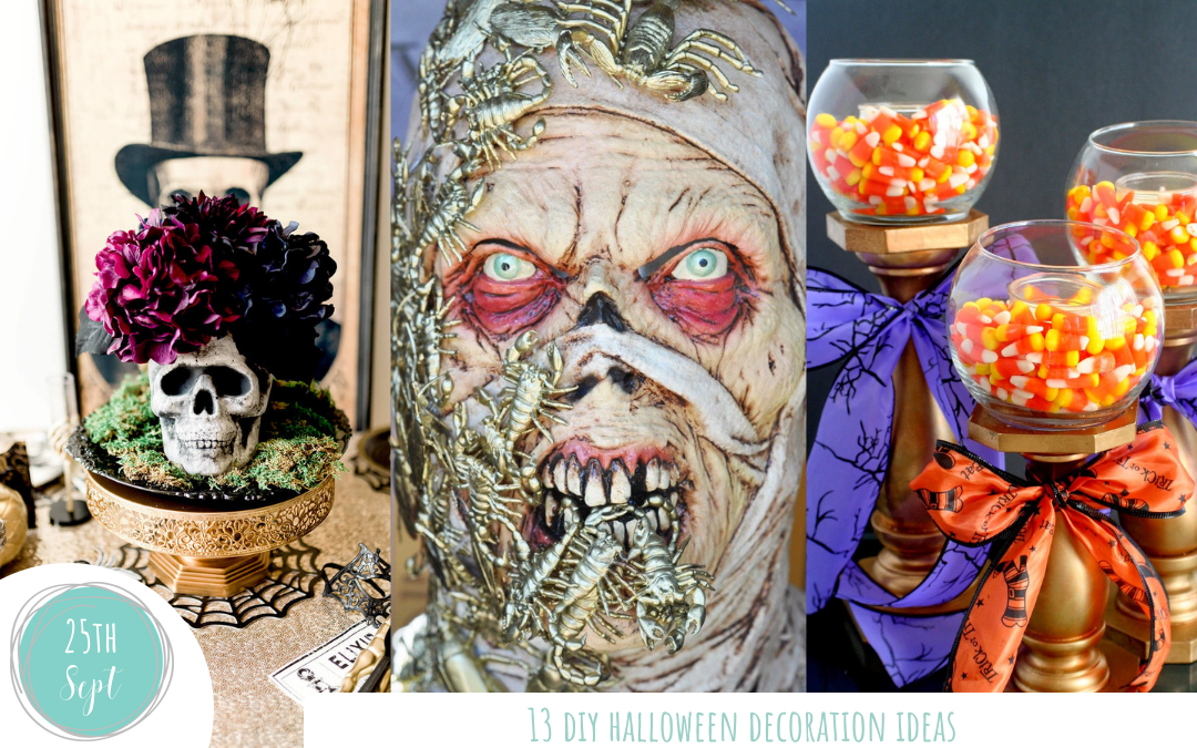 13 DIY Halloween Decoration Ideas