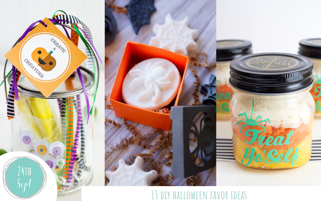 13 DIY Halloween Favor Ideas